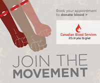 Save Lives this summer - recruit blood donors!