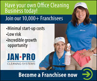 BE THE BOSS ! HAVE YOUR OWN CLEANING BUSINESS