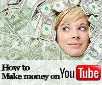 Make money from youtube with no filming, no market