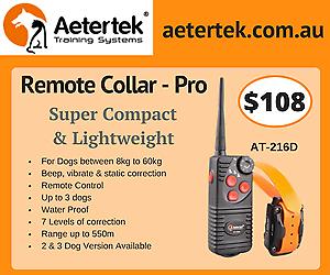 Aetertek 216D multiple Dog Remote Training collar bark control