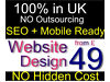 Cheapest Website Design from £49 | SEO | Mobile Ready | Web Designer | 10% OFF any Quote Ealing, London