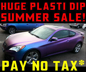 ► HUGE SUMMER SALE on PLASTI DIP ◄ Pay no tax if you bring cash