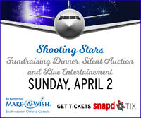 Shooting Stars: Fundraising Dinner & Silent Auction