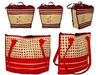 Hand Bags Reed Handmade