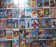 VHS Movies Lot