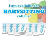 Babysitter is AVAILABLE