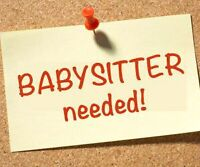 Babysitter needed