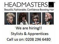 Hair Stylists at Headmasters – Full & Part Time roles in Richmond, London. Excellent Benefits!!
