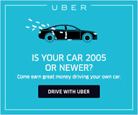 UBERX DRIVER PARTNER (PART TIME INDEPENDENT CONTRACTOR)