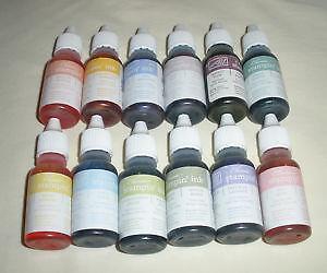 Stamp Pad Ink Refills