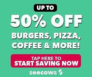 Free Local Deals! Download Seecows for Free and Get Up To 50% OFF at Bars, Restaurants, Spas, Tanning Salons, and More!