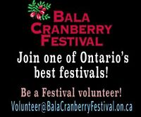 Cranberry Festival Volunteers needed!