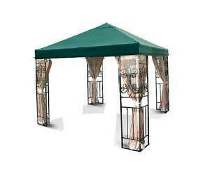 10 x 10 Gazebo Green  sc 1 st  eBay & 10x10 Gazebo: Awnings Canopies u0026 Tents | eBay