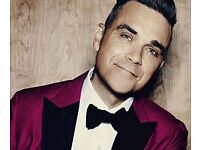 4 Robbie Williams Seated Tickets London 23/6/17