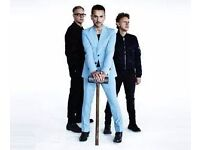 DEPECHE MODE ~ LONDON OLYMPIC STADIUM LESS THAN FACE VALUE