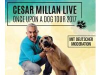 "Cesar Millan ""The dog whisperer"" Eventim Apollo, London, 2 tickets, Sunday 26 March 2017"