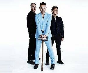DEPECHE MODE TICKETS ~DUBLIN LESS THAN FACE VALUE