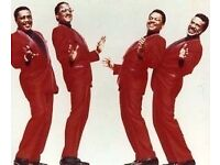FOUR TOPS AND TEMPTATIONS - BIRMINGHAM GENTING ARENA - 26TH OCTOBER - ONE 3rd row TICKET - £75