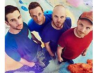 2 Standing Tickets Coldplay 12th July 2017 Cardiff Principality Stadium