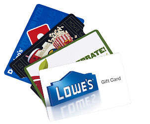Gift Cards For Sale Online