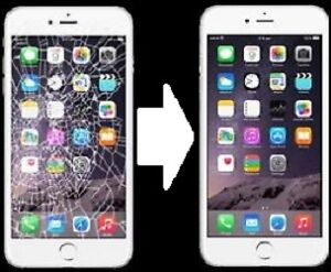 Repair cracked iPhone screens/Réparation des iPhone écran - $50
