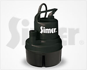 1/6 HP Submersible Thermoplastic Utility Pump