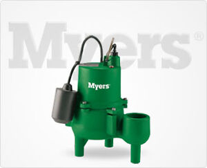 Finishing your Basement? - Myers SRM4 Sewage Pump Kitchener / Waterloo Kitchener Area image 1