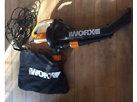 Worx Trivac 3000W Blow Vac- EXCELLENT NEW CONDITION