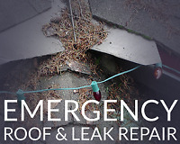 LEAKING ROOF CAUSING YOU TROUBLE? GIVE US A CALL ANY TIME