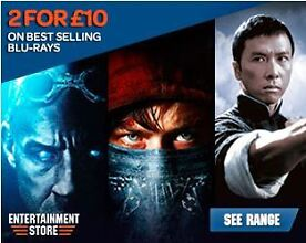 2 For £10 BluRays