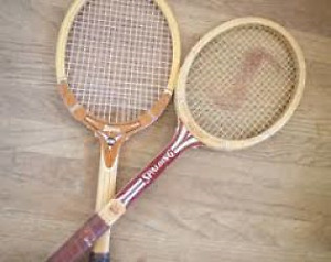 Pair of tennis raquets for sale.