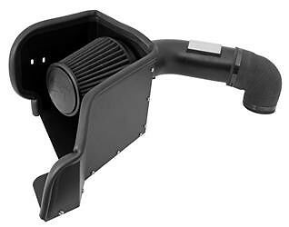 K&N BLACKHAWK DRY COLD AIR INTAKE 71-1561 09-15 DODGE RAM 1500 2500 5.7L HEMI V8