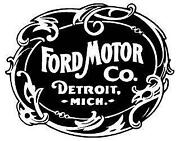Vintage Ford Sticker