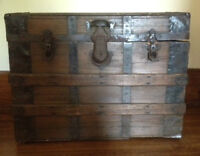 Antique Treasure Chest / Trunk
