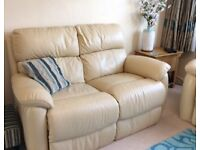 DFS Leather sofa and armchair EXCELLENT CONDITION