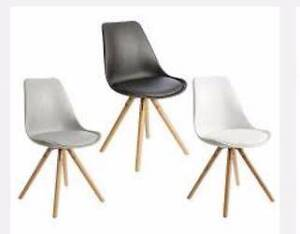 6 Modern Eames Dining Chairs East Geelong Geelong City Preview
