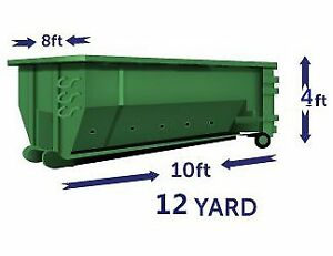 Roll off bin rental for $299+gst (7 days, 1Ton)
