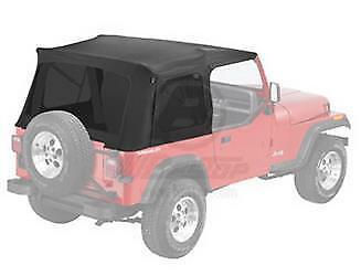 Bestop 55729-15 Supertop Classic Blk Denim Replacement Skin 76-86 CJ7 87-95 Jeep