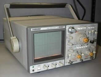 Kikusui 60 Mhz 3-channel Oscilloscope Cos5060