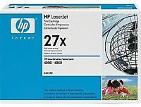 HP 27X Black Toner Cartridge (C4127X)