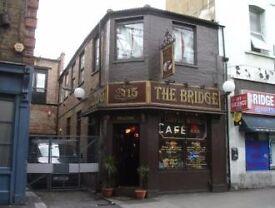 The bridge coffee house is hiring waitresses for IMMEDIATE START!!!!