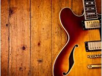 Acoustic or electric Guitar player wanted for small Blues band.