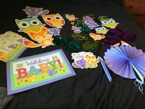 Baby Shower Decorations(Woodland Critters)