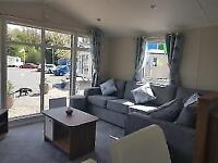 New Static Caravan For Sale - Large Front Windows West Scotland Ayrshire
