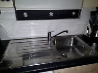 Stainless Steel Sink C/W tap
