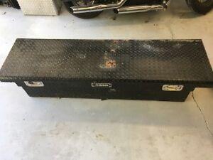 Black Aluminum Truck Tool Box