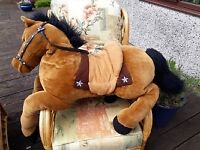 Very large Cuddly Horse.