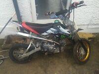 Monster Pit bike