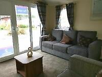 Excellent Value New Static Caravan For Sale Front Patio Doors