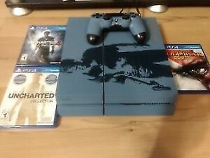 PS4 (500GB) + 1  Controller + Games